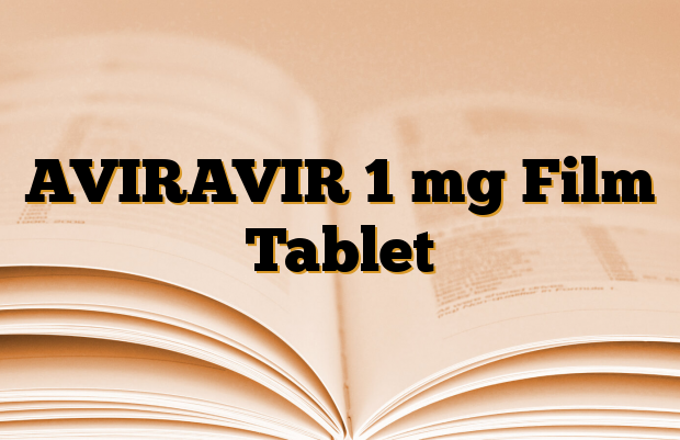 AVIRAVIR 1 mg Film Tablet