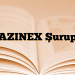 AZINEX Şurup