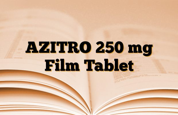 AZITRO 250 mg Film Tablet