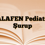 BALAFEN Pediatrik Şurup