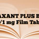BAXANT PLUS B12 25/1 mg Film Tablet