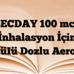BECDAY 100 mcg İnhalasyon İçin ÖlçüIü Dozlu Aerosol