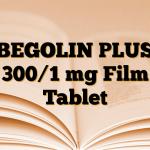 BEGOLIN PLUS 300/1 mg Film Tablet