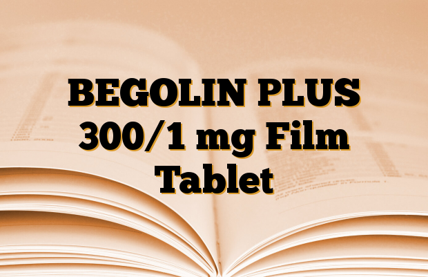 BEGOLIN PLUS 300/1 mg Film Tablet