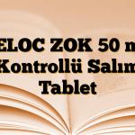 BELOC ZOK 50 mg Kontrollü Salım Tablet