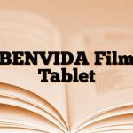 BENVIDA Film Tablet