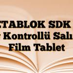 BETABLOK SDK 25 mg Kontrollü Salımlı Film Tablet