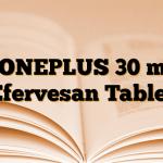 BONEPLUS 30 mg Efervesan Tablet