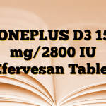 BONEPLUS D3 150 mg/2800 IU Efervesan Tablet