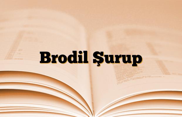 Brodil Şurup