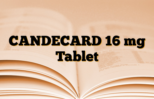 CANDECARD 16 mg Tablet