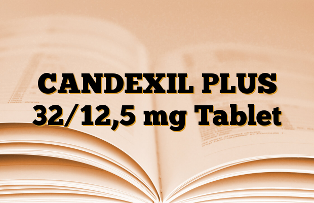 CANDEXIL PLUS 32/12,5 mg Tablet