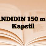 CANDIDIN 150 mg 2 Kapsül