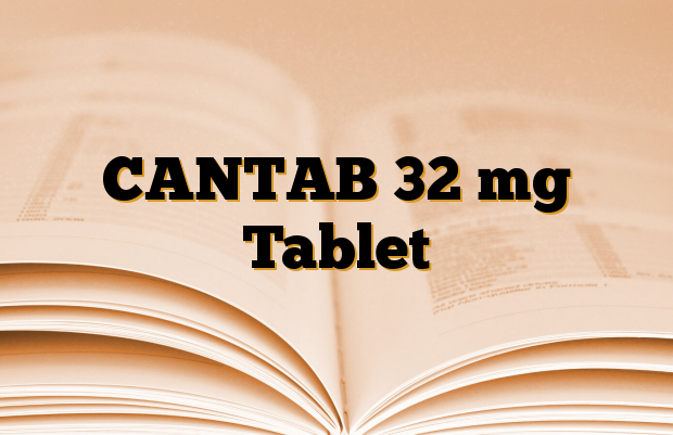 CANTAB 32 mg Tablet