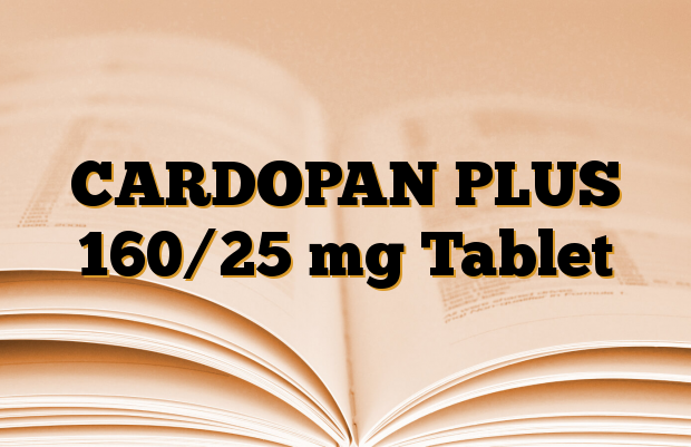 CARDOPAN PLUS 160/25 mg Tablet