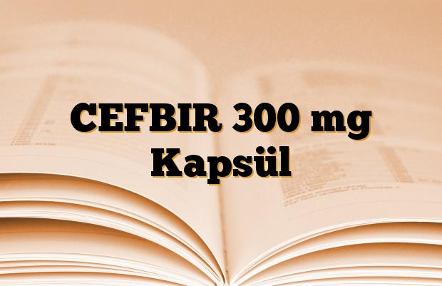 CEFBIR 300 mg Kapsül