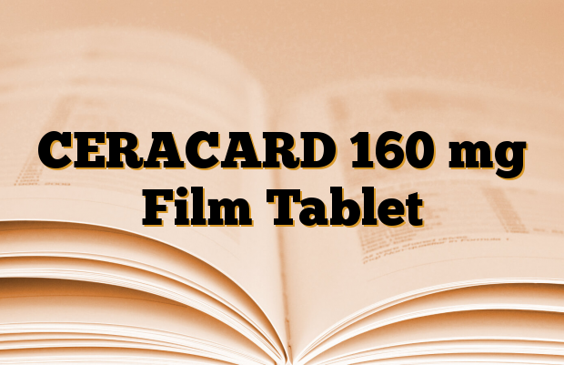 CERACARD 160 mg Film Tablet