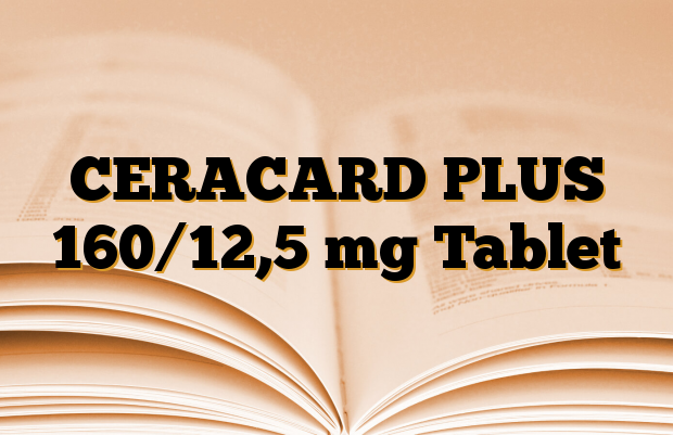 CERACARD PLUS 160/12,5 mg Tablet