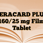 CERACARD PLUS 160/25 mg Film Tablet