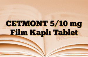 CETMONT 5/10 mg Film Kaplı Tablet