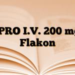 CIPRO I.V. 200 mg 1 Flakon