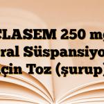CLASEM 250 mg Oral Süspansiyon için Toz (şurup)