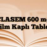 CLASEM 600 mg Film Kaplı Tablet