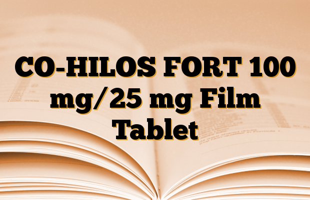 CO-HILOS FORT 100 mg/25 mg Film Tablet