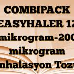 COMBIPACK EASYHALER 12 mikrogram-200 mikrogram İnhalasyon Tozu