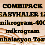 COMBIPACK EASYHALER 12 mikrogram-400 mikrogram İnhalasyon Tozu