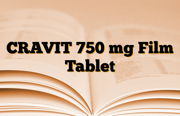 CRAVIT 750 mg Film Tablet