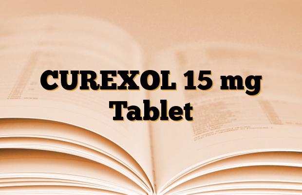 CUREXOL 15 mg Tablet