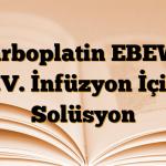 Carboplatin EBEWE İ.V. İnfüzyon İçin Solüsyon