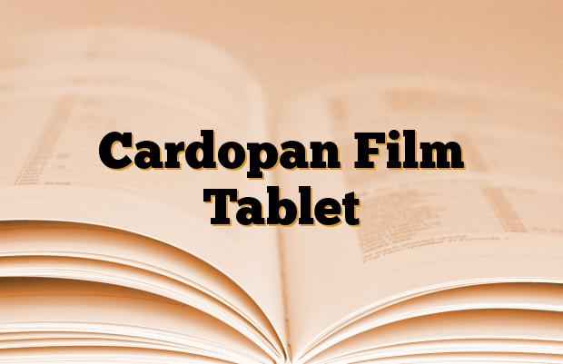 Cardopan Film Tablet