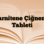 Carnitene Çiğneme Tableti