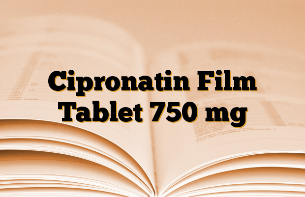 Cipronatin Film Tablet 750 mg