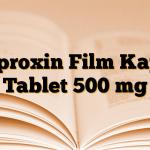 Ciproxin Film Kaplı Tablet 500 mg