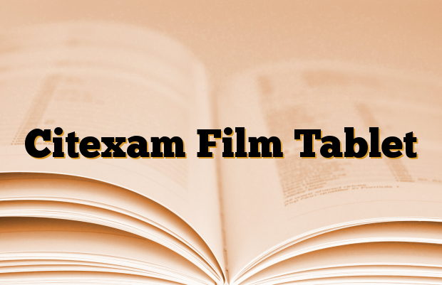 Citexam Film Tablet