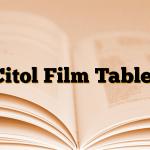 Citol Film Tablet