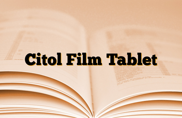 Citol Film Tablet