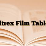 Citrex Film Tablet