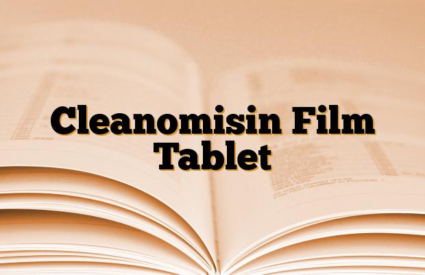 Cleanomisin Film Tablet