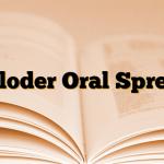 Cloder Oral Sprey