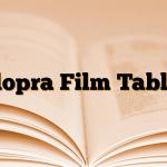 Clopra Film Tablet