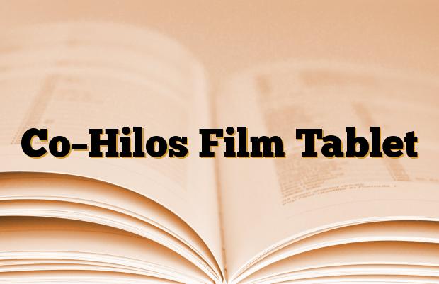 Co–Hilos Film Tablet