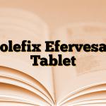 Colefix Efervesan Tablet