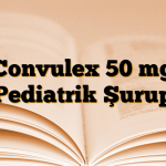 Convulex 50 mg Pediatrik Şurup