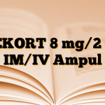 DEKORT 8 mg/2 ml IM/IV Ampul