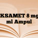 DEKSAMET 8 mg/2 ml Ampul