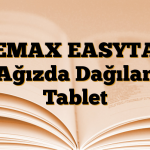 DEMAX EASYTAB Ağızda Dağılan Tablet